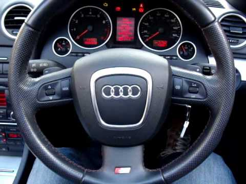 Audi A4 2 0t Fsi S Line Cabriolet Auto Wmv Youtube