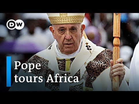 Pope Francis begins Africa tour with mass in Mozambique | DW News