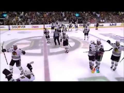 Chicago Blackhawks 2013 Stanley Cup Playoffs OT Goals & Cup Winning Goals