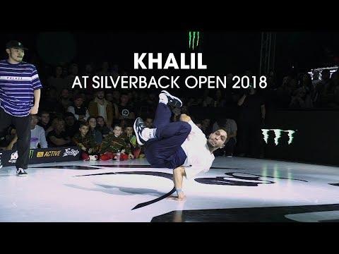 Khalil at Silverback Open 2018 // .stance