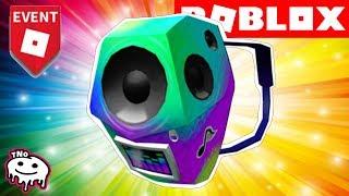 BATOH S REPRÁKY ZDARMA - Boombox Backpack - PIZZA PARTY EVENT | ROBLOX | tNo CZ/SK