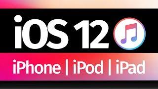 How to Update iPhone iPad iPod via iTunes | iOS 12 | Mac & PC