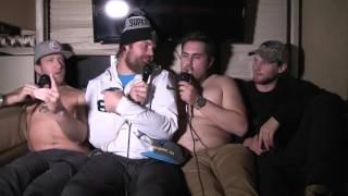 Barstool RV Super Bowl Casting Couch - Greg Olsen
