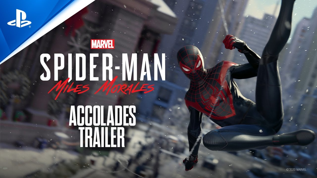 Marvel's Spider-Man: Miles Morales - Accolades Trailer | PS4, PS5