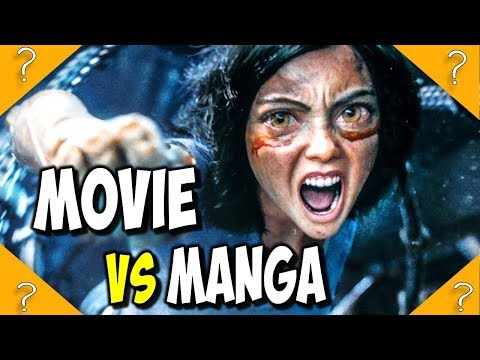 How Is The Alita Battle Angel FILM Different From The MANGA