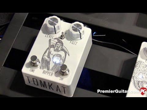 SNAMM '17 - Tomkat Pedals and Electronics Violet Muffer, Daydreamer, Ripper & Killer Demos