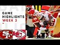 49ers vs. Chiefs Week 3 Highlights | NFL 2018