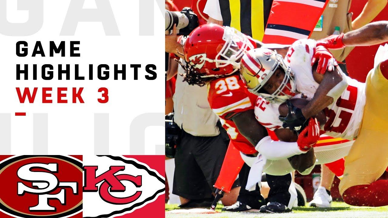 b6e7c01d1 49ers vs. Chiefs Week 3 Highlights