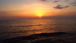 Закат в Крыму - 25 июля 2018 (видео для медитации и расслабления)