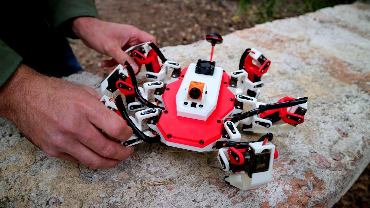 """""""Скорпион"""" - шагающий робот с FPV камерой. Часть 2: Настройка и тесты"""