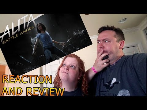 Alita Battle Angel Trailer 2018 Reaction