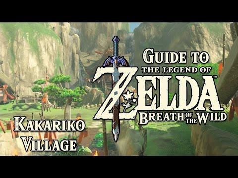 Guide to Zelda Breath of the Wild - Kakariko Village