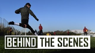 The hard work intensifies | Behind the scenes at Arsenal Training Centre