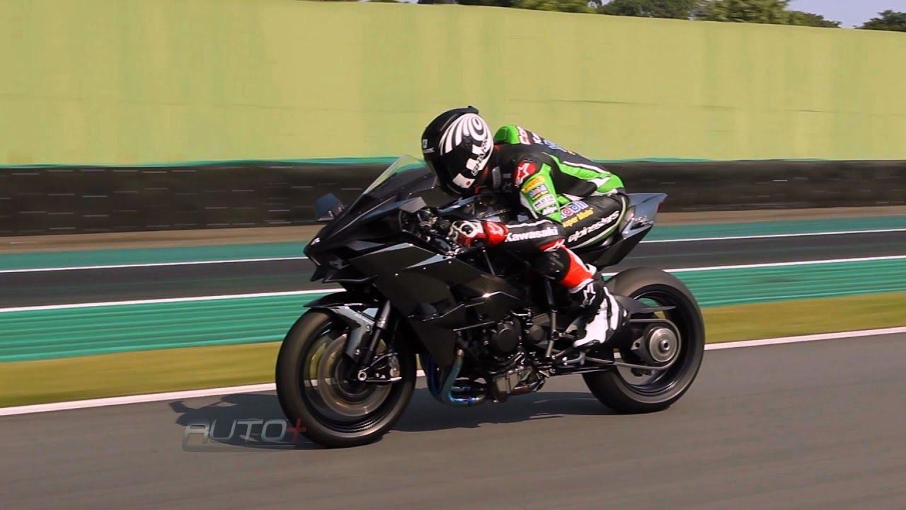 Aceleramos A Invocada Kawasaki Ninja H2r Em Interlagos Youtube