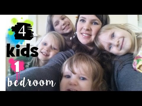Four Kids, One Bedroom