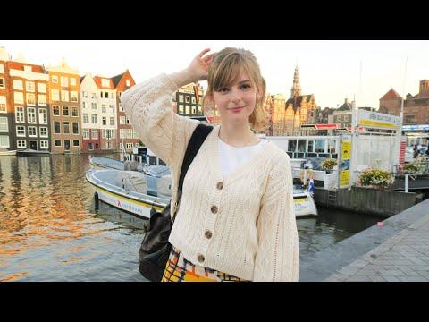 アムステルダムに来ました。A day in Amsterdam. [English subtitles]