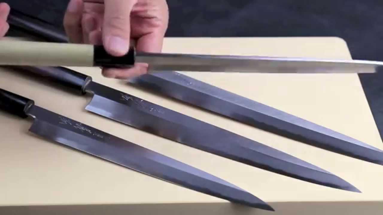 yoshihiro kasumi white high carbon steel yanagi youtube