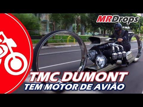 TMC DUMONT, A MOTO BRASILEIRA COM MOTOR DE AVIÃO E 300cv - MRDrops #38