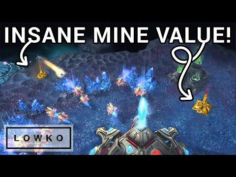 StarCraft 2: UpATree's GOLDEN Widow Mines! (Viewer Games)