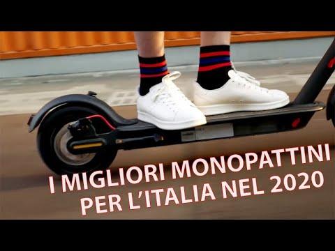 I MIGLIORI MONOPATTINI ELETTRICI per l'Italia nel 2020!