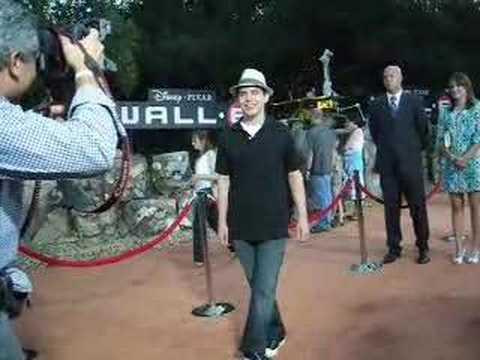 David Archuleta at the WALL-E Premiere