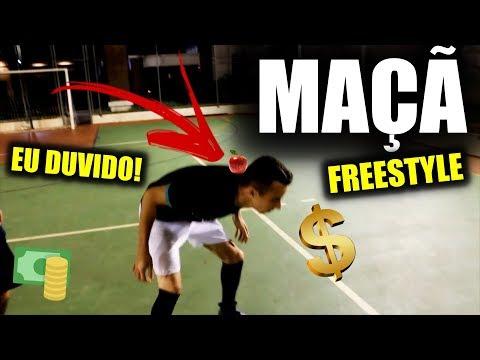 Download Youtube: FAZER FREESTYLE COM UMA MAÇÃ!!! - EU DUVIDO #19