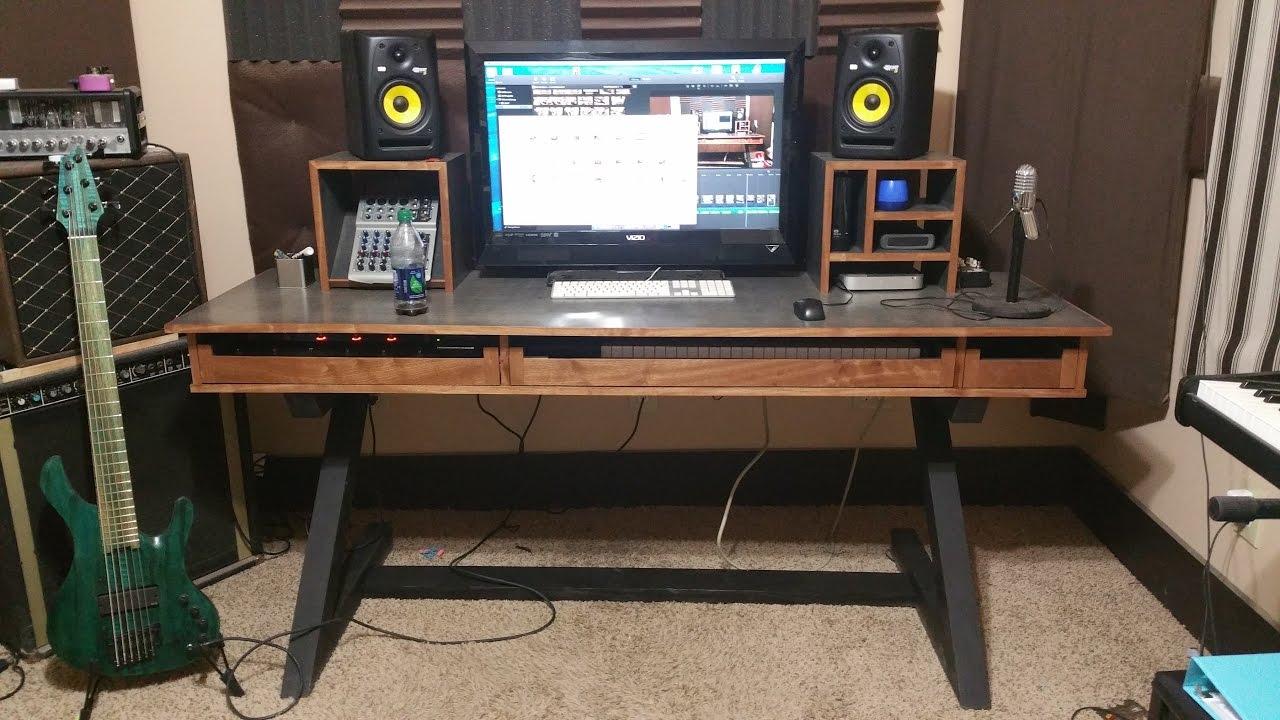Music Studio Desk Youtube