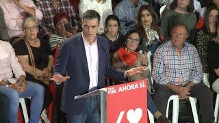 Sánchez se erige como parapeto a España en blanco y negro de Vox
