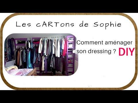 DIY CARTON : Comment aménager un dressing ?