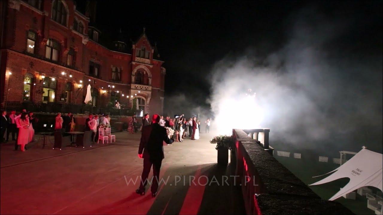 Fajerwerki Power of Love - Pałac Wąsowo | PiroArt.pl Fajerwerki