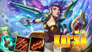 Kaisa with Akali - Conquer Wind Sword New Build - 100% Win Game