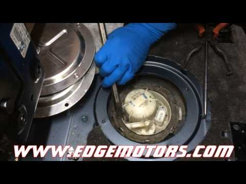 VW Touareg Audi Q7 fuel pump replacement DIY by Edge Motors