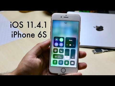 iOS 11.4.1 OFFICIAL On iPHONE 6S! (Review)