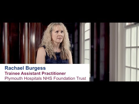 Rachael Burgess - Trainee Assistant Practitioner, Plymouth Hospitals NHS Foundation Trust