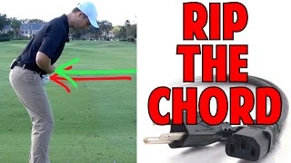 How to Stay In Posture In Your Golf Swing | Rip the Power Chord