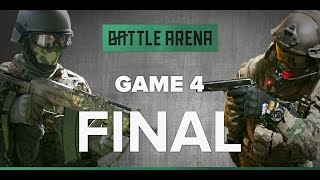 Game 4. FINAL! Airsoft FPS - Snegiri VS South Park    GoPro    BattleArena