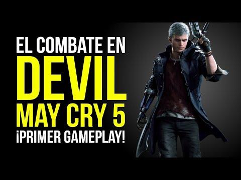 El COMBATE en DEVIL MAY CRY 5, ¡PRIMER GAMEPLAY! thumbnail