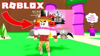 HALLOWEEN PETS AND MEN IN THE UPDATE 20 OF ROBLOX MAGNET SIMULATOR! 🎃