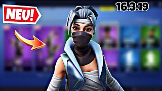 FORTNITE DAILY ITEM SHOP 16.3.19 | NEW NINJA SKINS ARE DA!!