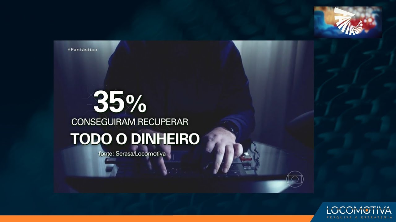 FANTÁSTICO: Mais de 60 milhões de brasileiros já sofreram com fraude financeira na internet