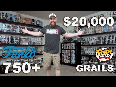 EPIC $20000 FUNKO POP COLLECTION - 750+ FUNKO POPS