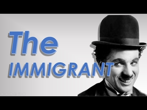 Most Funny Movie of Charlie Chaplin - The Immigration