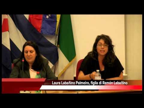 Cuba e Venezuela interventi di Roger Lopez e Laura Labañino, figlia di Ramón uno dei 5