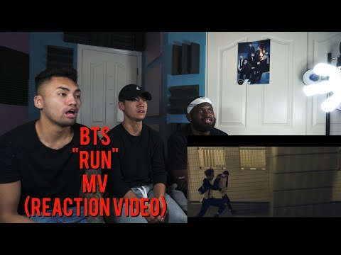 BTS - RUN MV - (REACTION VIDEO)