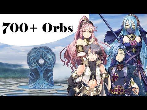 Fire Emblem Heroes - 700+ Orbs   Performing Arts Banner