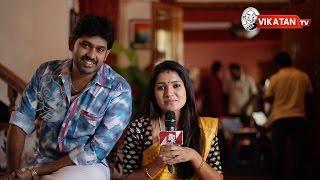 Vani Bhojan Interview On The Sets Of Lakshmi Vandachu | Satellite Chips
