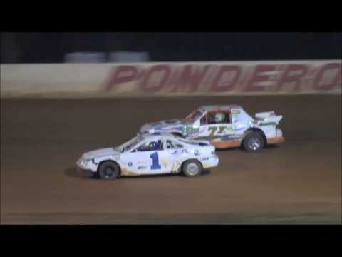 Stock Four Cylinder Heat Race from Ponderosa Speedway, September 30, 2016.