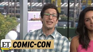 Comic-Con 2018: Andy Samberg Makes A Plea For Bruce Willis To Guest Star On Brooklyn Nine-Nine