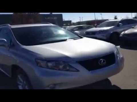 Used 2010 Lexus RX 350 with Leather and Sunroof Sport Utility For Sale Calgary AB