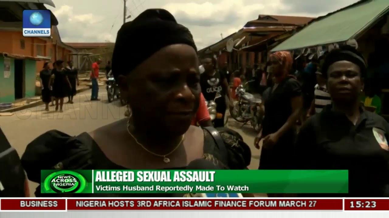 Download Cross River Community Protests Gang Rape Of Woman |News Across Nigeria|
